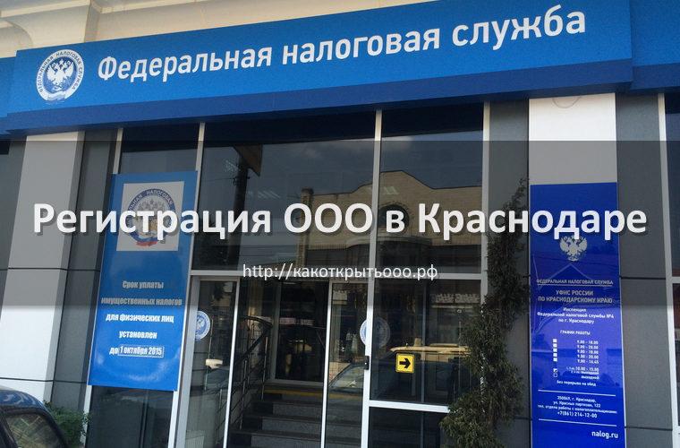 Как открыть ООО в Краснодаре